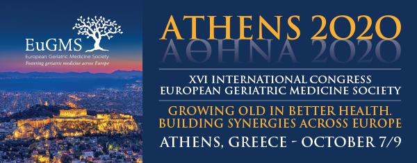 Πανευρωπαϊκό Συνέδριο EuGMS ΑΘΗΝΑ 2020 (Μέγαρο Μουσικής Αθηνών, 7-9 Οκτωβρίου 2020)